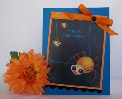 make halloween cards