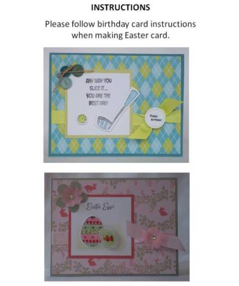 easter card making ideas step by step instructions