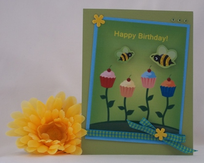 making a birthday card