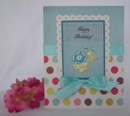 handmade card samples
