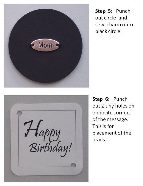 create a birthday card instructions step 4