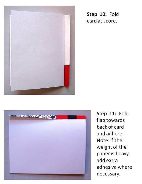 Homemade Birthday Card Ideas instructions step 6