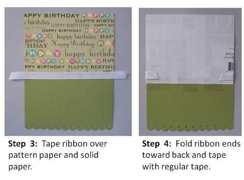 handmade birthday card diy
