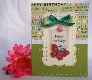 HANDMADE BIRTHDAY CARD AND OTHER FUN BIRTHDAY CARD IDEA