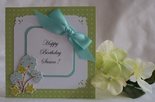 design your own birthday card and examples of handmade cards, Birthday card