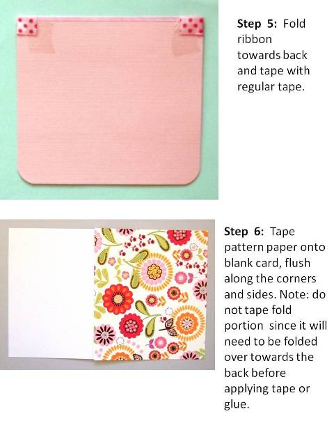 birthday card ideas instructions step 4
