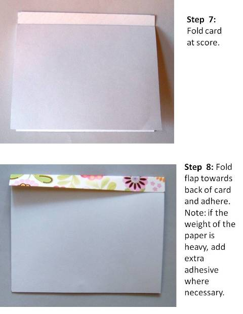 birthday card ideas instructions step 5