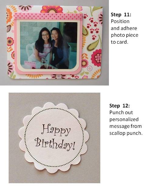 birthday card ideas instructions step 7