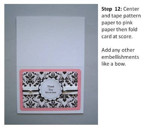 birthday card ideas instructions step 8