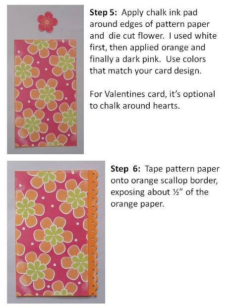 Valentines card ideas lovey dovey step 4