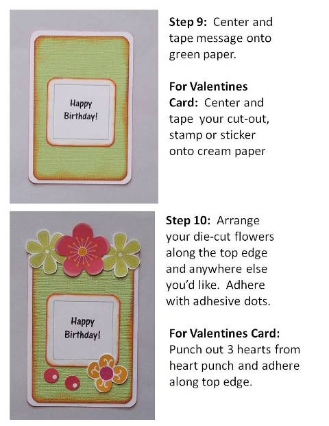 how to make a homemade birthday card