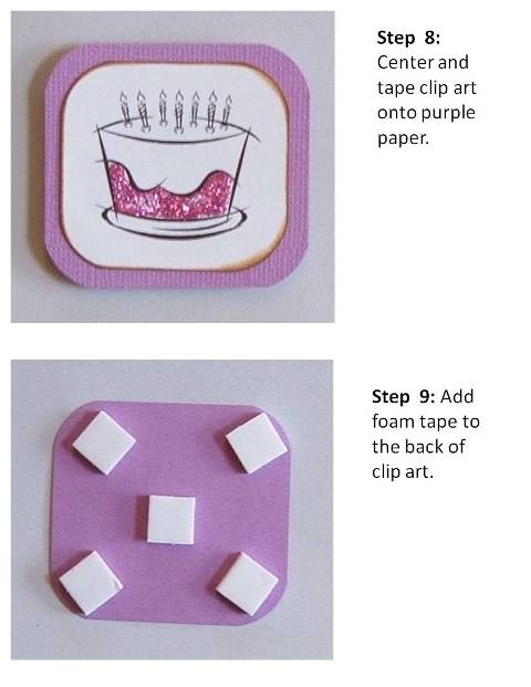birthday card design directions