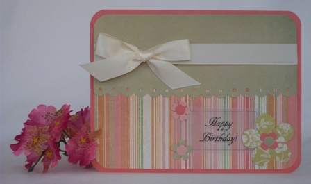 making your own birthday card