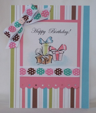 handmade birthday card idea