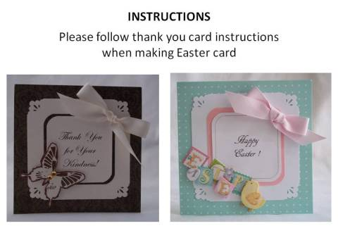 homemade easter cards instructions