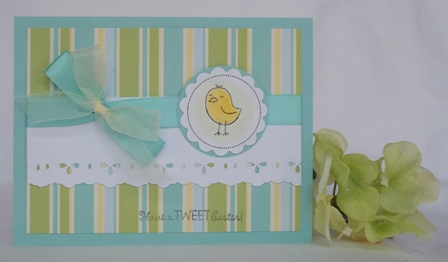make a easter card