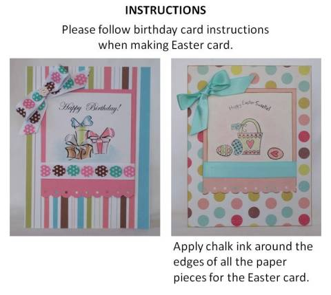 easter card designs instructions
