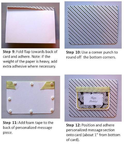 easter cardmaking step by step instructions