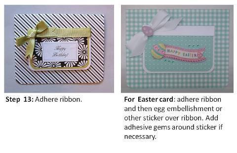easter cardmaking how to