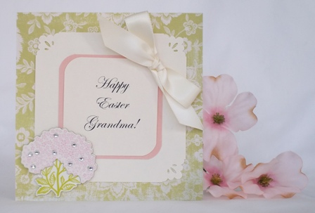 make an easter card