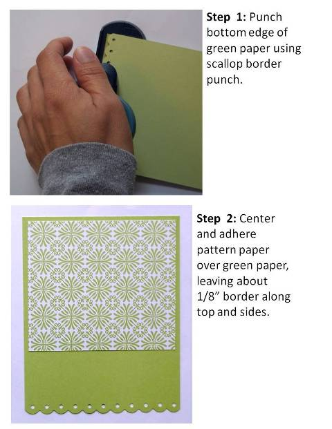 make easter cards step by step instructions