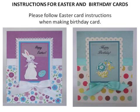 handmade birthday card idea instructions