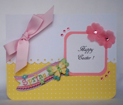 create an easter card