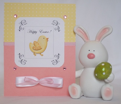 homemade easter card