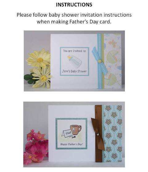 fathers day cards to make instructions