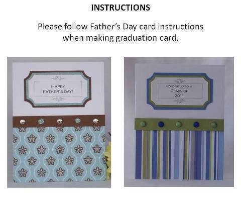 homemade graduation cards instructions