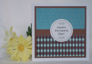 handmade fathers day card idea