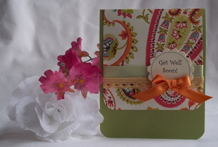 You can't go wrong with a handmade greeting card. Make a get