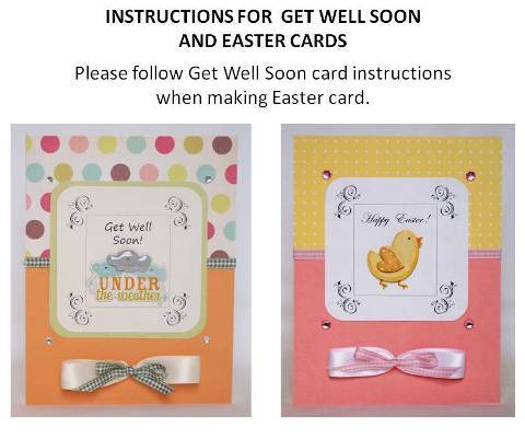 get well soon instructions