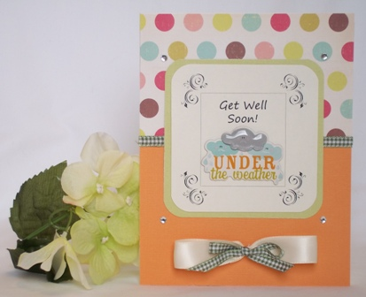 get well soon handmade card idea