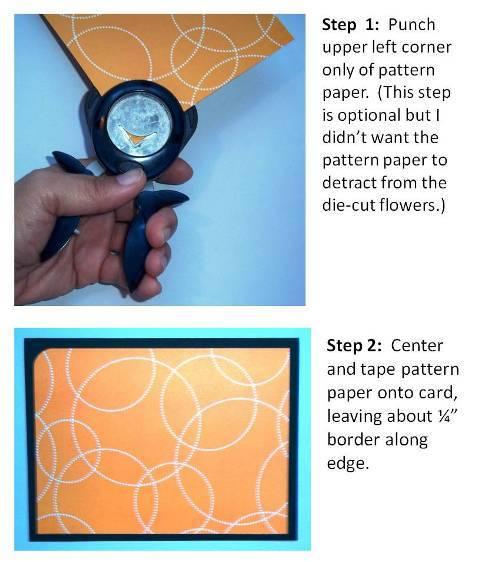 scrapbooking card idea instructions