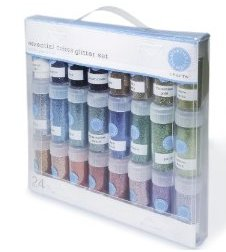 Martha Stewart 24-Vial Glitter Multi-Pack