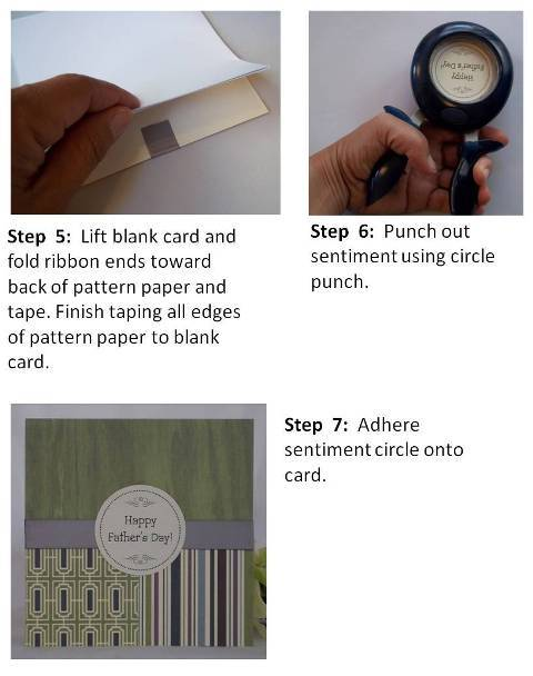make fathers day cards step by step