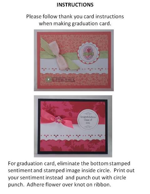 graduation card designs - instructions