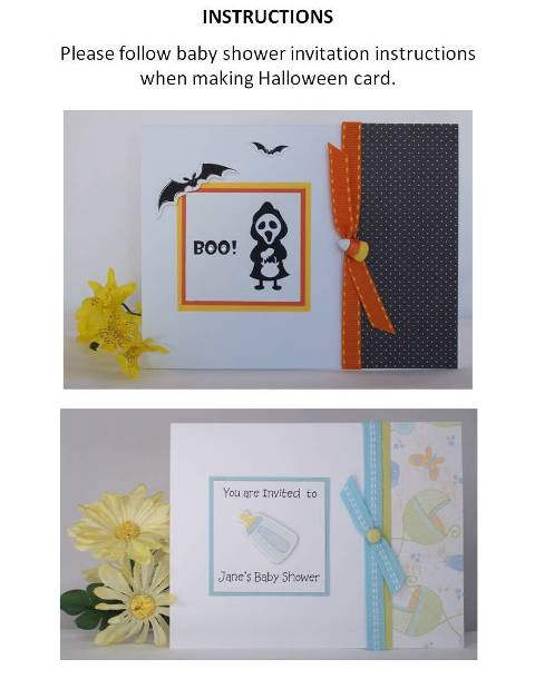 making halloween cards how to