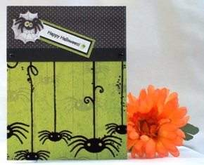 cute halloween cards spiders