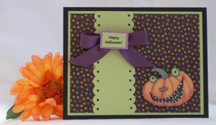 hallloween card craft