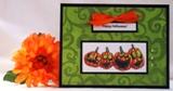 homemade halloween card idea