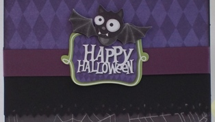 halloween card craft