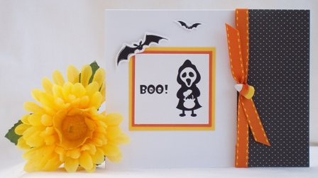 making halloween cards