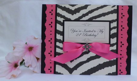 21ST BIRTHDAY INVITATIONS MAKE PRETTY HANDMADE INVITATIONS – Homemade Birthday Invitation Ideas