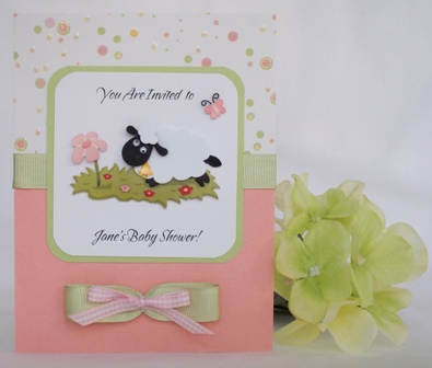 Baby Lamb Invitations was great invitation template