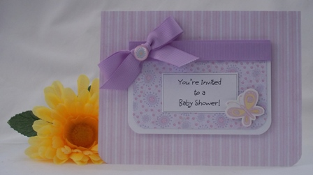 baby shower invitation idea