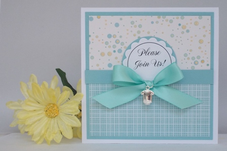 Baby Shower Invitation Template Cute Boy Handmade Card Ideas