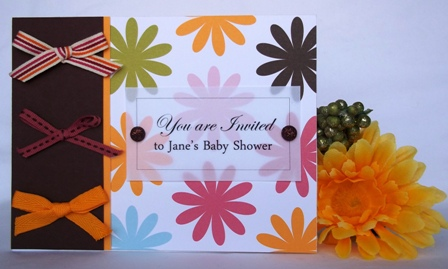 paper card making ideas invitation