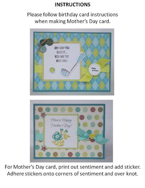 mothers day card making idea instructions